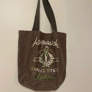 Brown Aeropostale Tote Bag